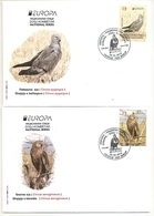 MACEDONIA NORTH,MAZEDONIEN, 2019, EUROPA CEPT,NATIONAL BIRDS,VOGEL,CIRCUS,,,FDC - Macedonia