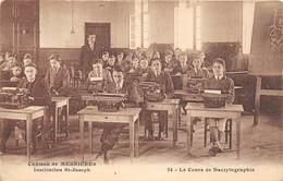 76-MESNIERES- CHATEAU DE MESNIERES- INSTITUTION ST-JOSEPH LE COURS DE DACTYLOGRAPHIE - Mesnières-en-Bray