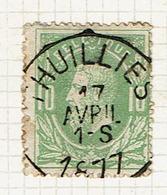 30  Obl  Sc  Thuillies  + 8 - 1869-1883 Leopold II