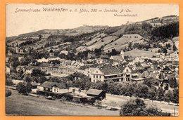 Waidhofen And Ybbs 1915 Postcard - Waidhofen An Der Ybbs