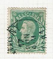30  Obl  Sc  Tintigny  + 8 - 1869-1883 Leopold II