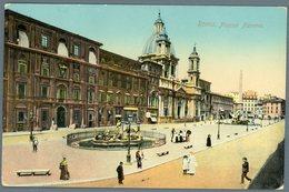 °°° Cartolina N. 132 Roma Piazza Navona Nuova °°° - Roma (Rome)
