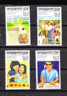 Singapore  - 1981. Anno Dell ' Handicap. Year Of The Handicap. Complete Mnh Series MNH - Handicap