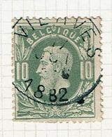 30  Obl  Sc  Vierves  + 8  Dent ! - 1869-1883 Leopold II