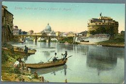 °°° Cartolina N. 135 Roma Veduta Del Tevere E Castel S. Angelo Nuova °°° - Roma (Rome)