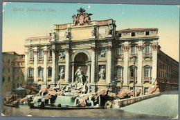 °°° Cartolina N. 136 Roma Fontana Di Trevi Nuova °°° - Roma (Rome)