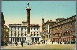 °°° Cartolina N. 138 Roma Piazza Colonna Nuova °°° - Roma (Rome)