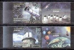 Serie De Bosnia Herzegovina Nº Yvert 430a/31a ** ASTROFILATELIA (ASTROPHILATELY) - Bosnia And Herzegovina