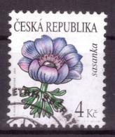 République Tchèque 2010 - Oblitéré - Fleurs - Michel Nr. 651 Série Complète (cze022) - Oblitérés