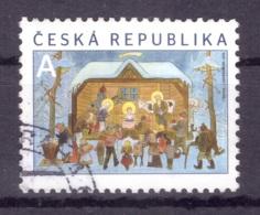 République Tchèque 2014 - Oblitéré - Noël - Michel Nr. 826 Série Complète (cze025) - Oblitérés