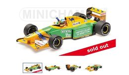 Benetton Ford B192 – Michael  Schumacher – 3rd German GP 1992 #19 - Minichamps (1:18) - Minichamps