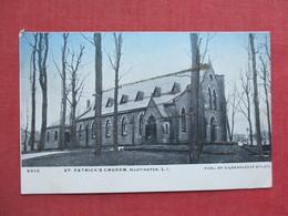 St. Patrick's Church Huntington-- Glitter Added     Long Island  New York   Ref 3375 - Long Island