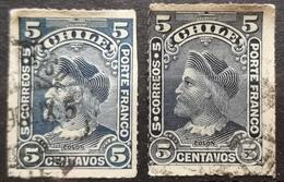 COLUMBUS-2 C- VARIETY -ERROR - CHILE - 1900 - Chile