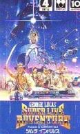 Télécarte Japon / 110-011 - CINEMA - INDIANA JONES (4147) SUPER LIVE ADVENTURE - Japan Movie Phonecard Film Kino - Cinéma