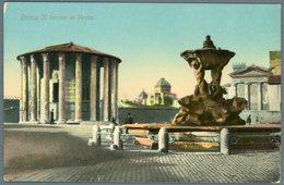 °°° Cartolina N. 146 Roma Il Tempio Di Vesta Nuova °°° - Roma (Rome)