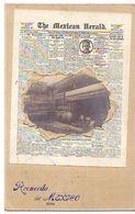 Carte En Relief - Recuerdo De MEXICO - The Mexican Herald - Mexico