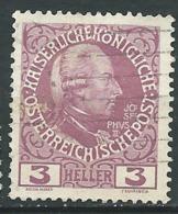 Autriche      Yvert  N°   103 A Oblitéré   -  Bce  20138 - 1850-1918 Imperium