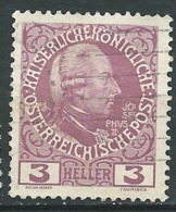 Autriche      Yvert  N°   103 A Oblitéré   -  Bce  20138 - Usados