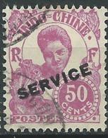 Indochine , Service        Yvert  N°   29 Oblitéré   -  Bce  20141 - Indocina (1889-1945)