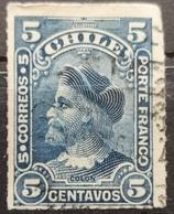 COLUMBUS-2 C-ERROR - CHILE - 1900 - Chile