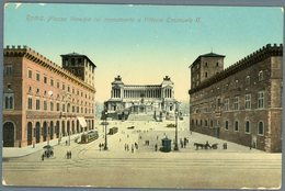 °°° Cartolina N. 149 Roma Piazza Venezia Col Monumento A Vittorio Emanuele Ii Nuova °°° - Roma (Rome)