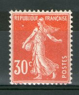 N° 160* _ Tres Bon Centrage - 1906-38 Semeuse Camée