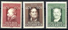 Austria Nº 694/5 En Nuevo - 1945-.... 2ª República