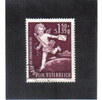 SOS795 ÖSTERREICH 1952  MICHL 972 Used / Gestempelt SIEHE ABBILDUNG - 1945-60 Gebraucht