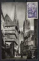 France, Carte Maximum, Thématique église, Cathédrale Etc 1956 - Maximum Cards