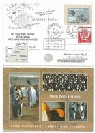 YT 431 - Archipel Crozet - Posté à Bord De L'Oceanic Viking - Alfred Faure - Crozet - 05/02/2010 - Gérant Postal - Terres Australes Et Antarctiques Françaises (TAAF)