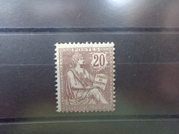 Timbre N° 126, Lot 1694 - 1900-02 Mouchon