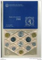 I. REPUBBLICA - ANNO 1980 - DIVISIONALE FIOR DI CONIO - FDC - 1946-… : Republic