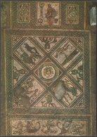 Mosaic, Roman Villa, Brading, Isle Of Wight, C.1970s - J Arthur Dixon Postcard - Autres