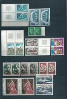 Lot Timbres De La Réunion /CFA En Paire , Surtout 1973/4 , Neufs Sans Charnière , Cote : 77 Euro - Nuovi