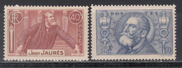 1936 Yvert Nº 318 / 319   MNH - Frankreich