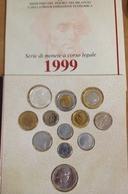 ITALIA MILLESIMALE ANNO 1999 - CONFEZIONE ZECCA - 12 VALORI - VITTORIO ALFIERI - 1946-… : Republic