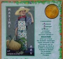 Médaille Touristique MAXIME JARDINIER  2009 L'Autisme Asperger Marseille - Monnaie De Paris