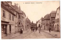BENFELD GRANDE RUE TRES ANIMEE - Benfeld
