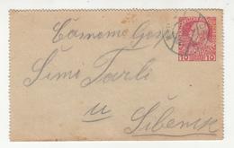 Austria Croatia Postal Stationery Letter Card Travelled 191? Drniš To Šibenik B190601 - Croatia