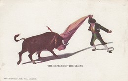 Bull Fight  , 1901-07 ; The Defence Of The Cloak - Corrida