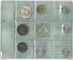ITALIA REPUBBLICA ANNO 1968 -  8 VALORI FDC - 500 FONDO LUCIDO O PROOF - 1946-… : Republic