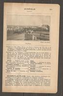 1924 QUINEVILLE MANCHE (50) - CHEMIN DE FER ETAT 343 KM DE PARIS A VALOGNES 14 KM DE LESTRE QUINEVILLE - Railway