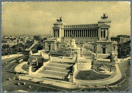 °°° Cartolina N. 150 Roma Mon.  Vittorio Emanuele Ii Viaggiata °°° - Roma (Rome)
