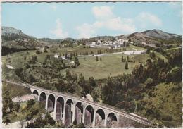 15   Saint Jacques  Des Blats  Le Viaduc Du Cresponnet Et Le Village Des Gardes - Frankreich