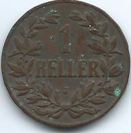 German East Africa - 1910 J - Wilhelm II -1 Heller - KM7 - Africa Della Germania Dell'Est