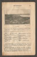 1924 COUTAINVILLE MANCHE (50) - CHEMIN DE FER ETAT 344 KM DE PARIS A COUTANCES PAR LISON ET SAINT LO - LA GREVE - Railway