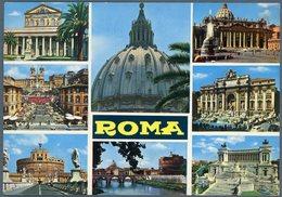 °°° Cartolina N. 151 Roma Vedutine  Viaggiata °°° - Roma (Rome)