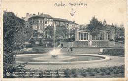 CPA - Belgique - Brussels - Bruxelles - St-Josse-ten-Noode - Place Armand Steurs - St-Joost-ten-Node - St-Josse-ten-Noode