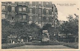 CPA - Belgique - Brussels - Bruxelles - St-Josse-ten-Noode - Square Armand Steurs - St-Joost-ten-Node - St-Josse-ten-Noode