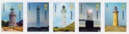 Denmark - 2019 - Lighthouses - Mint Self-adhesive Stamp Set - Nuovi
